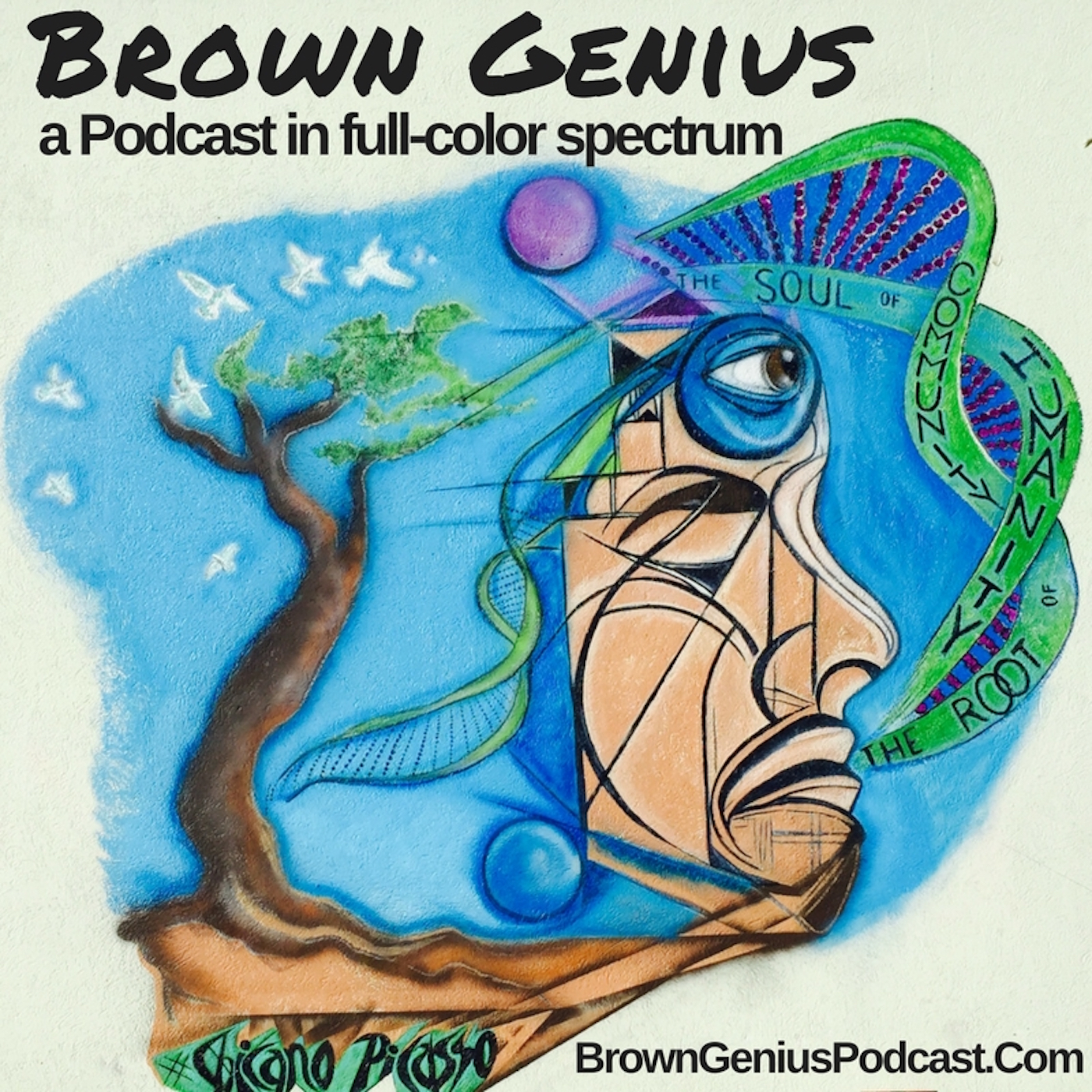 Brown Genius with DJ IceWater