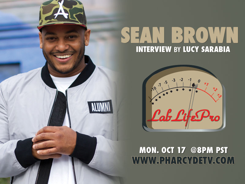 Sean Brown with LabLifePro on PharcydeTV