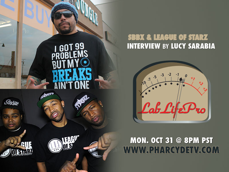 LabLifePro with SBBX and League of Starz on PharcydeTV