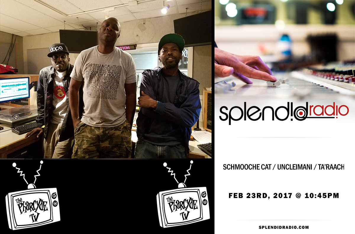 Splendid Radio EP 21 w Ta'Raach x UncleImani and Schmooche Cat