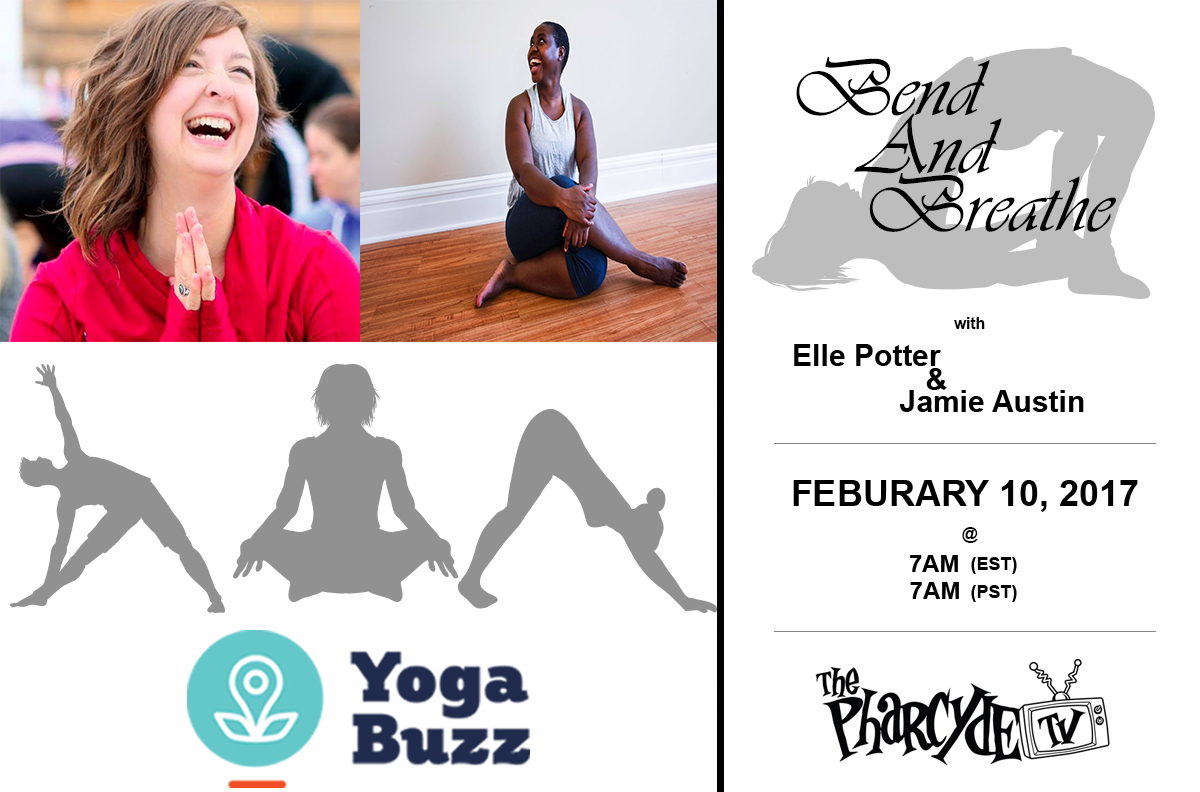 Yoga Practice with Elle Potter and Jamie Austin from YogaBuzz