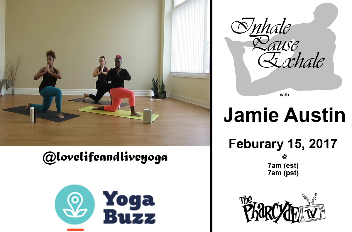 Yoga with Jamie Austin for YogaBuzz EP. 2