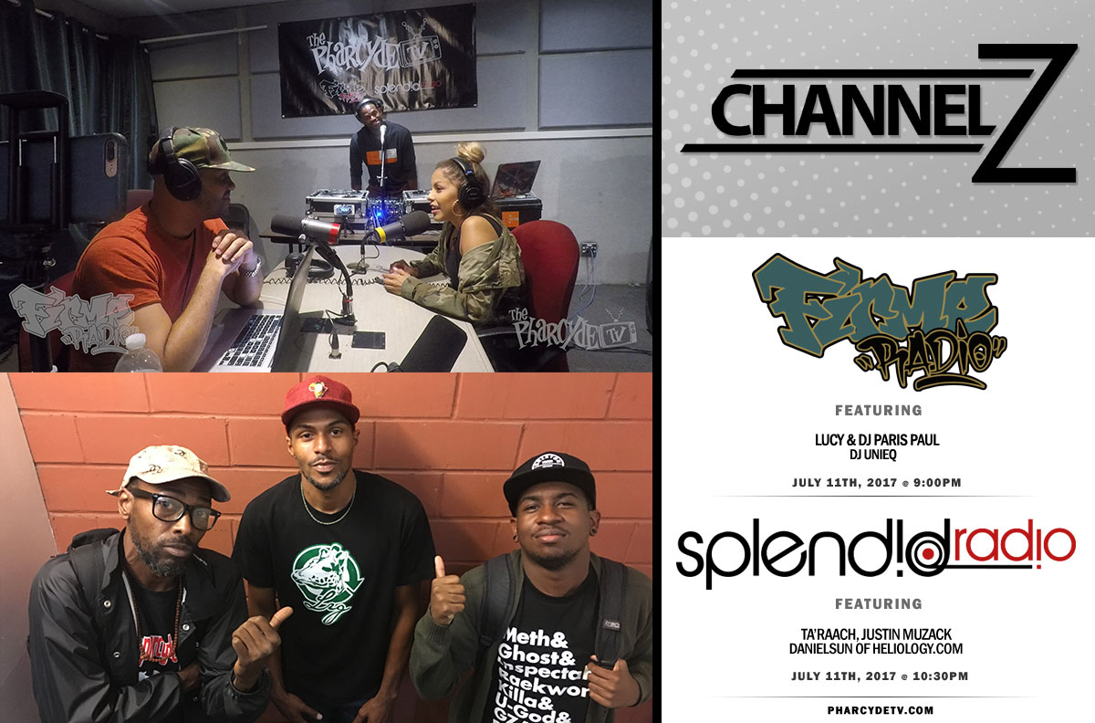 ReBroadcast Firme Radio EP 35 w/ Lucy,Paris Paul and DJ Unieq & Splendid Radio EP 36 w/Ta'Raach , Justin and DanielSun of Heliology.com