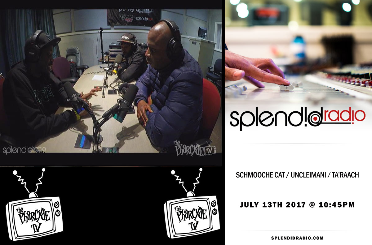 Splendid Radio EP 37 w/ Schmooche Cat, UncleImani and Ta'Raach