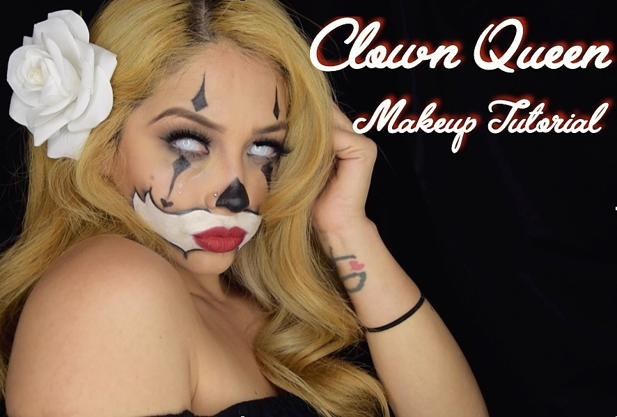 Clown Queen Makeup Tutorial by Beauty Doll Kris