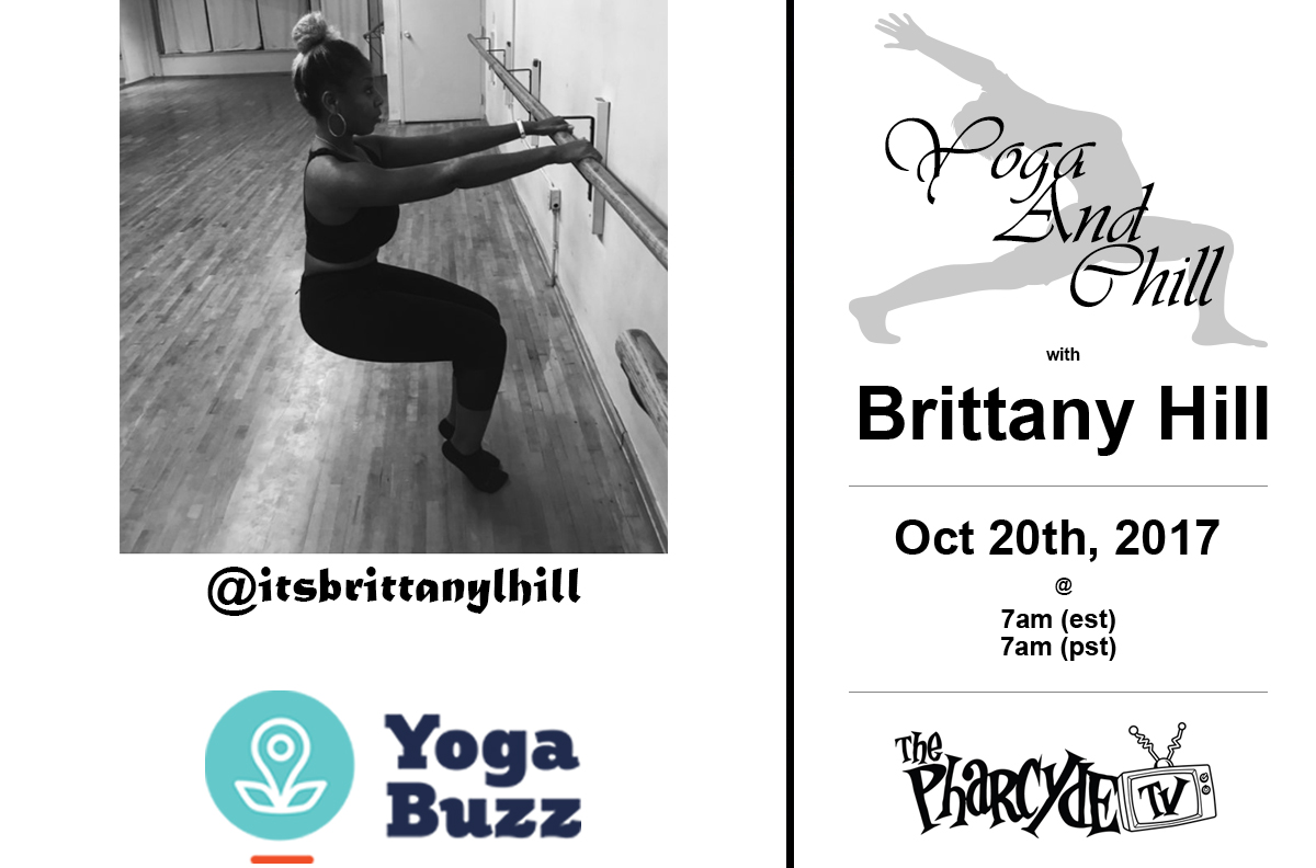 Free yoga w/ Brittany L Hill from Yoga Buzz