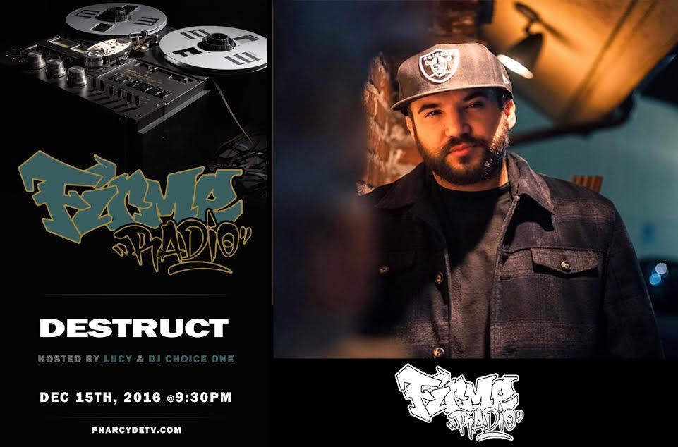 Firme Radio w/ guest artist Destruct