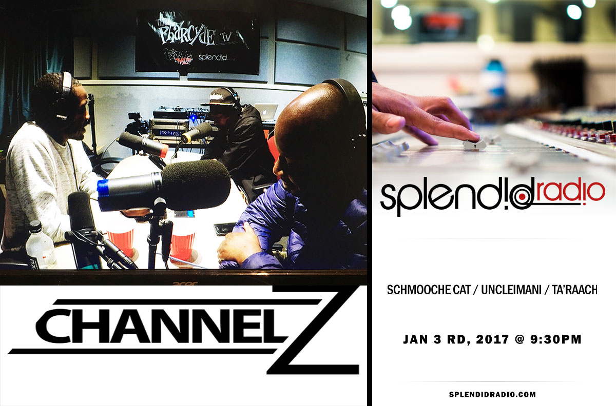 Re- Broadcast SplendidRadio EP.13 with Schmooche Cat x UncleImani x Ta'Raach