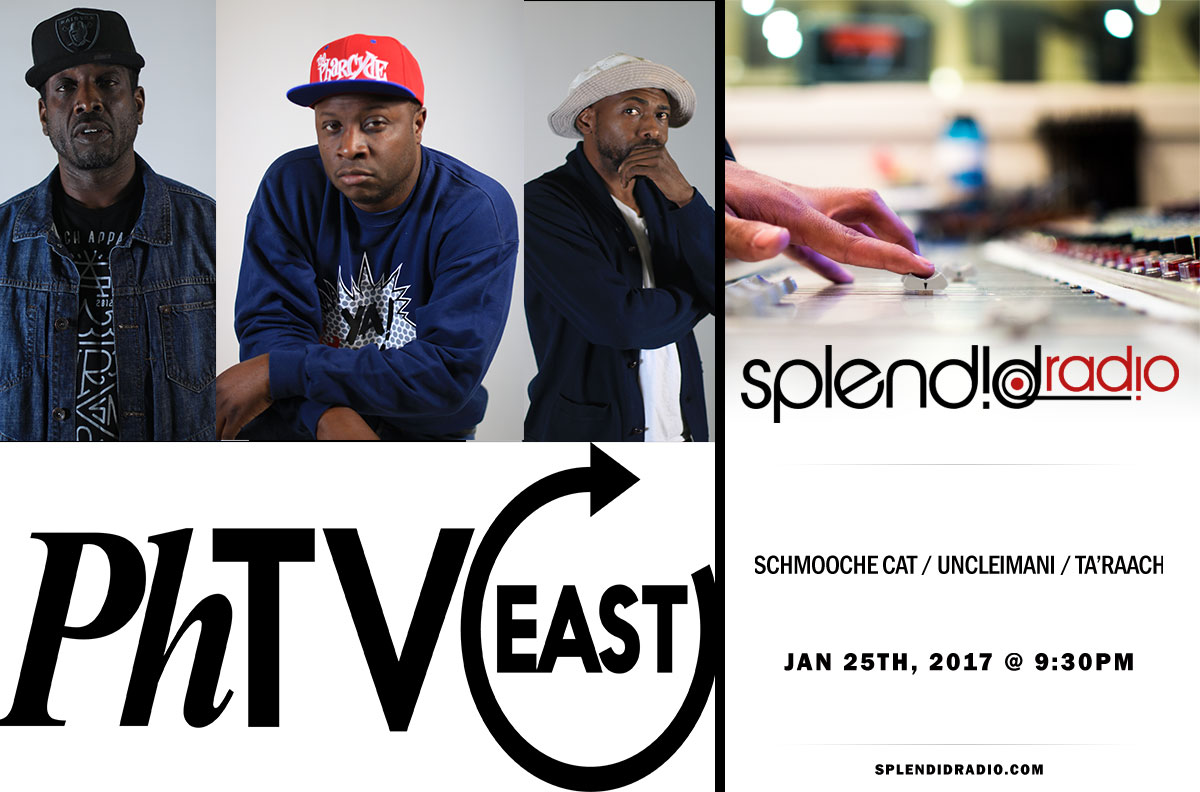 RE- BROADCAST SPLENDID RADIO EP.16 WITH SCHMOOCHE CAT x UNCLEIMANI x TA'RAACH