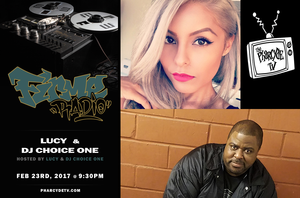 Tonight: Firme Radio hosted by Lucy & DJ Choice One