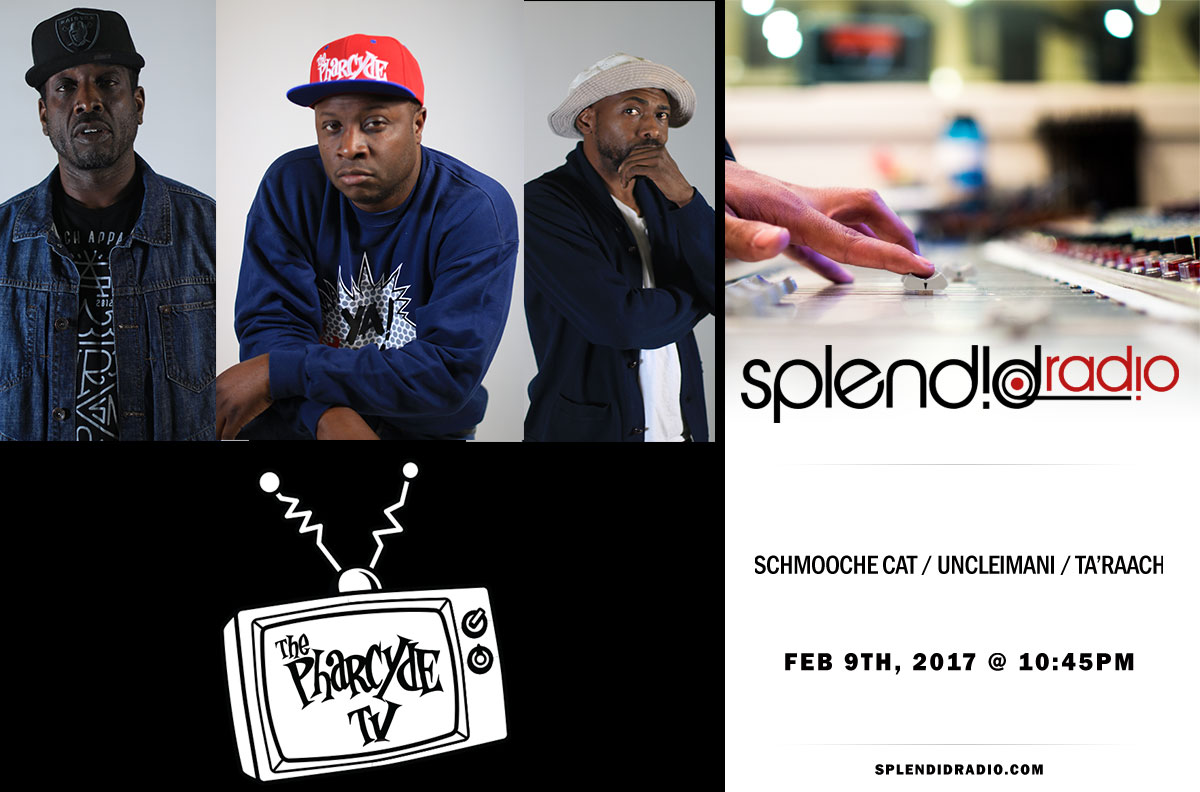 Splendid Radio EP.19 with Schmooche Cat x UncleImani x Ta'Raach