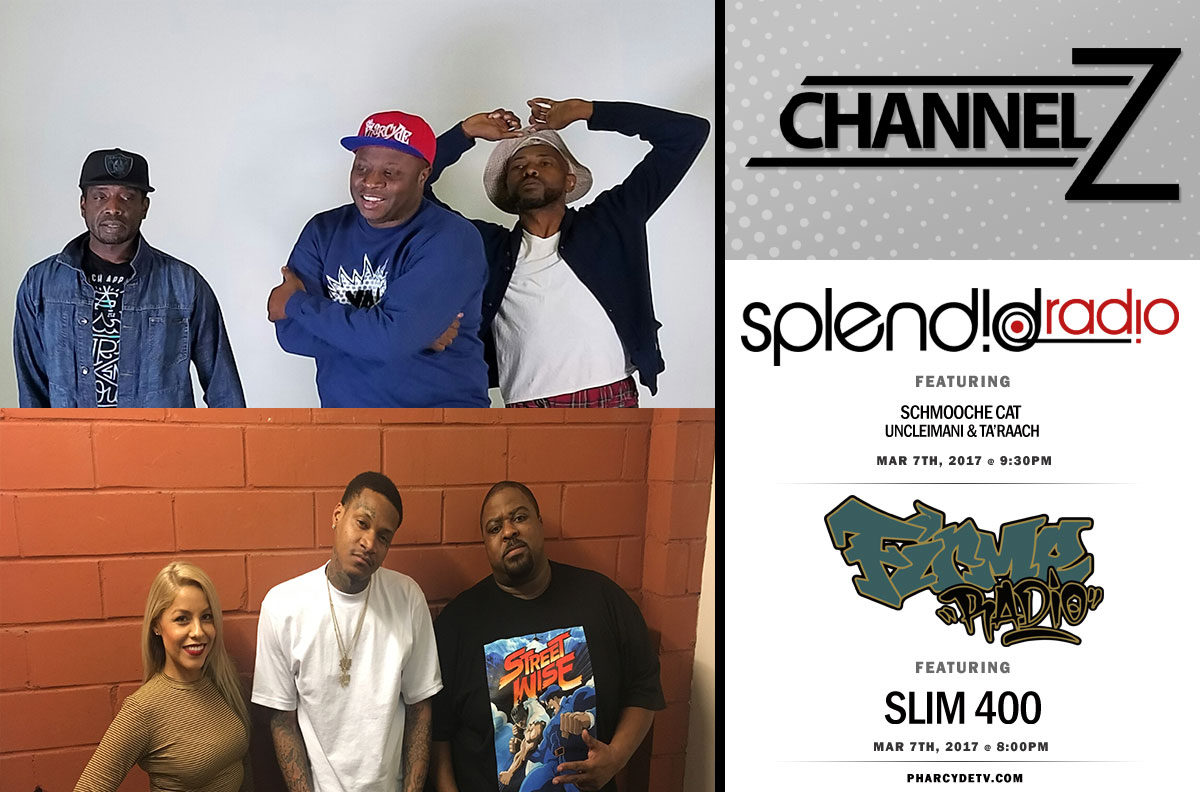 Re BroadCast EP 22  Firme Radio w/Guest Artist Slim 400 and Splendid Radio on Channel Z