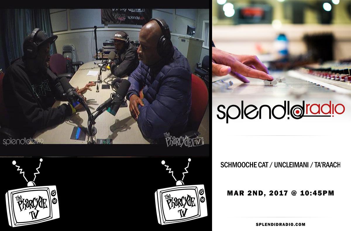 Splendid Radio EP 22 w/ Schmooche Cat x UncleImani x Ta'Raach