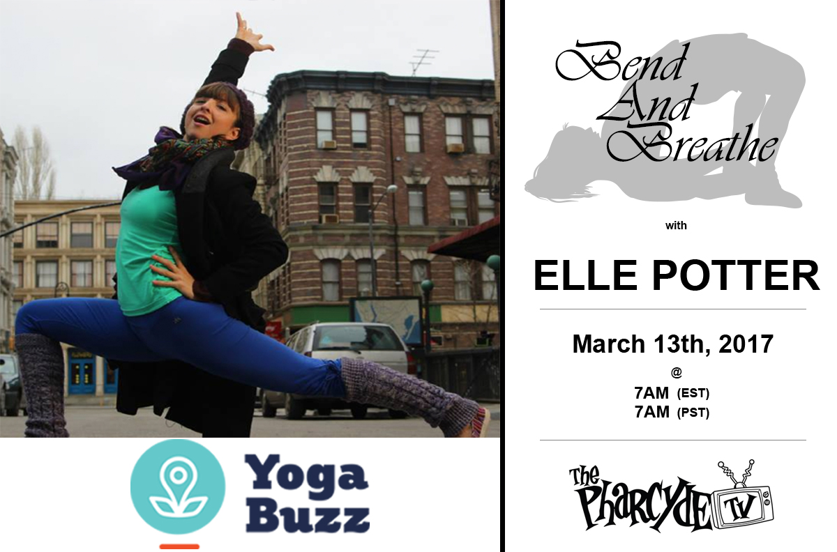 YOGA WITH ELLE POTTER FROM YOGABUZZ.ORG