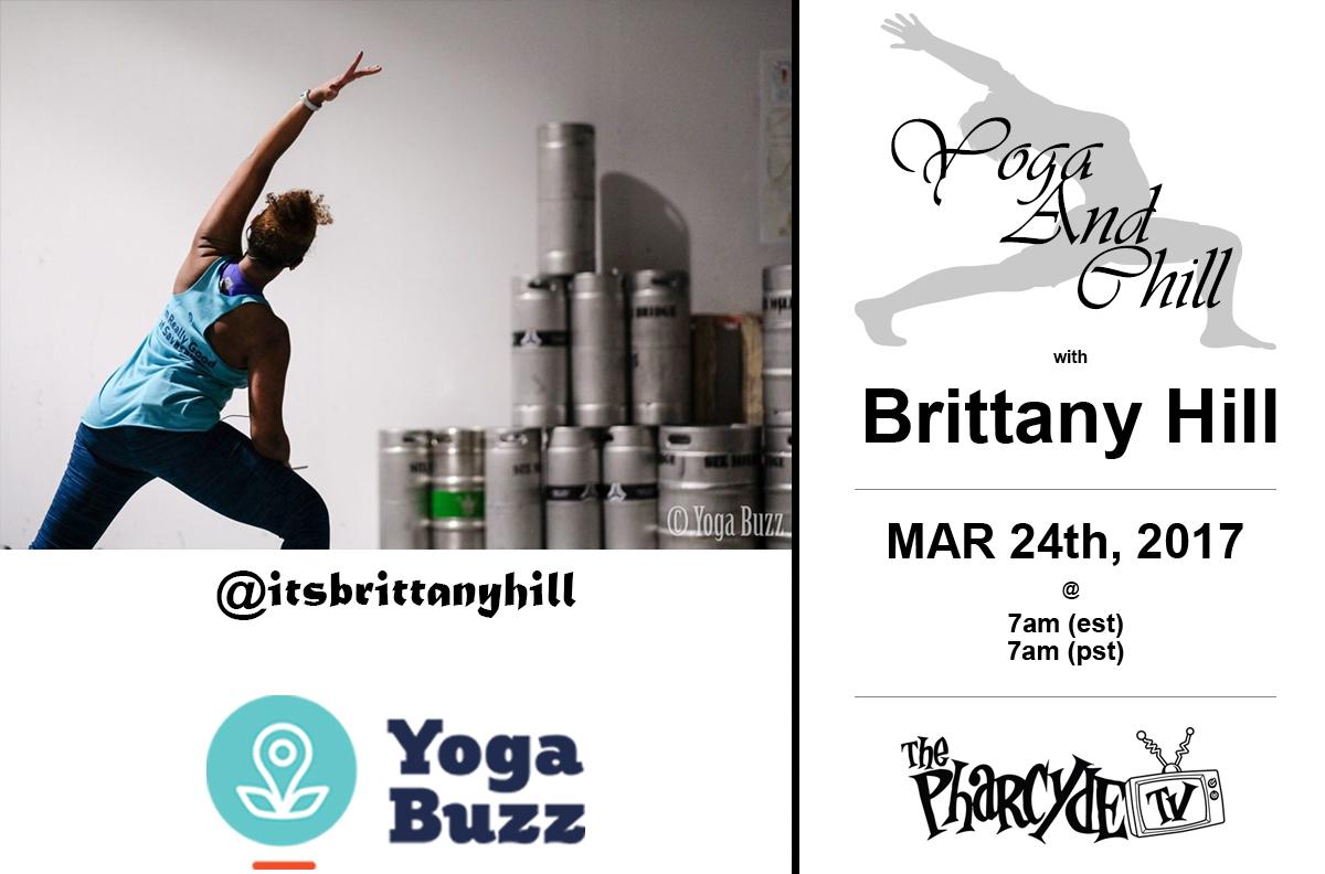 Free Yoga w/ Brittany Hill for YogaBuzz.Org