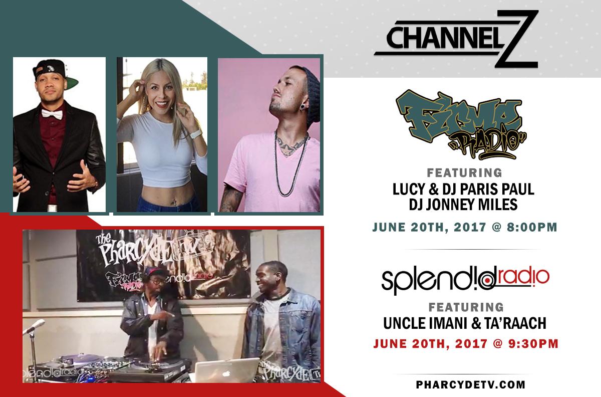 Re broadcast Firme Radio EP 32 w/Lucy, Paris Paul and DJ Jonney Miles…. Splendid Radio ep 33 w/ UncleImani and Ta'Raach