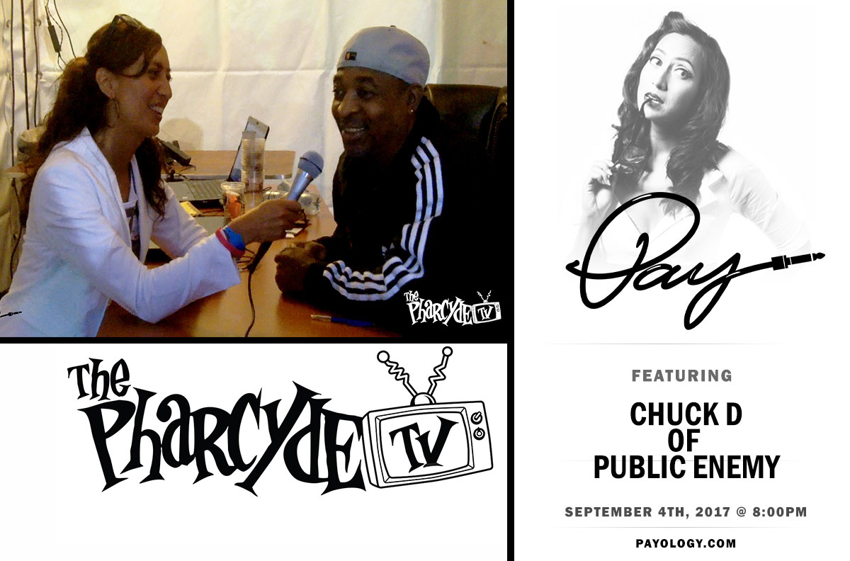 Pay w/ Chuck D of Public Enemy