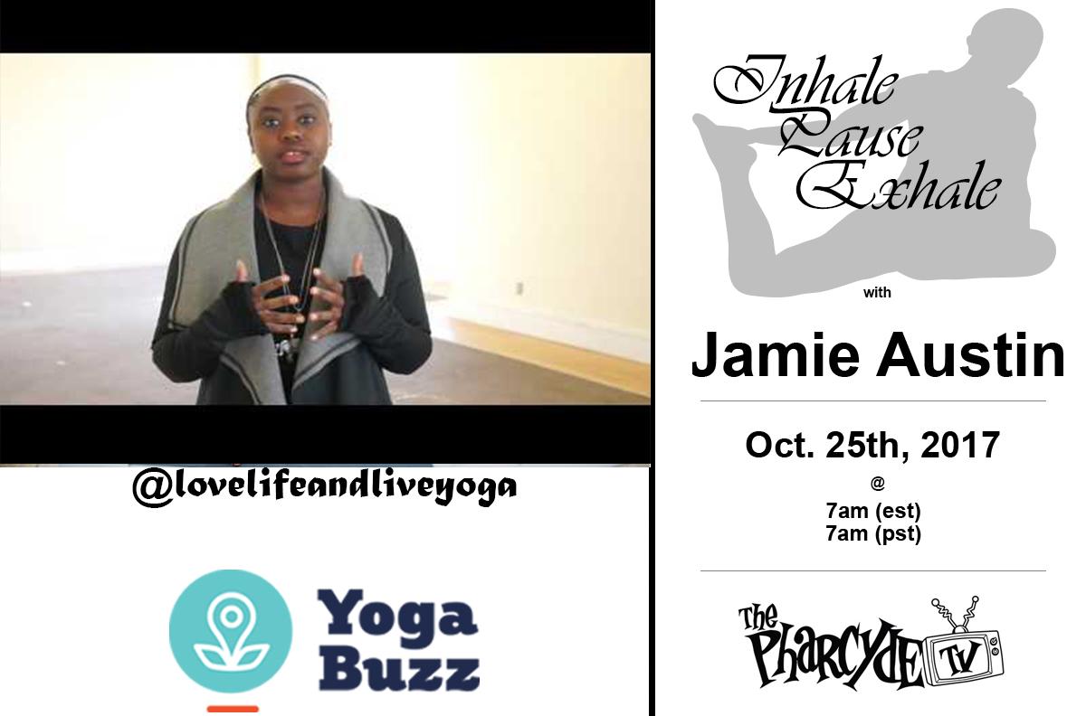 FREE YOGA W/ JAMIE AUSTIN FOR YOGABUZZ.ORG