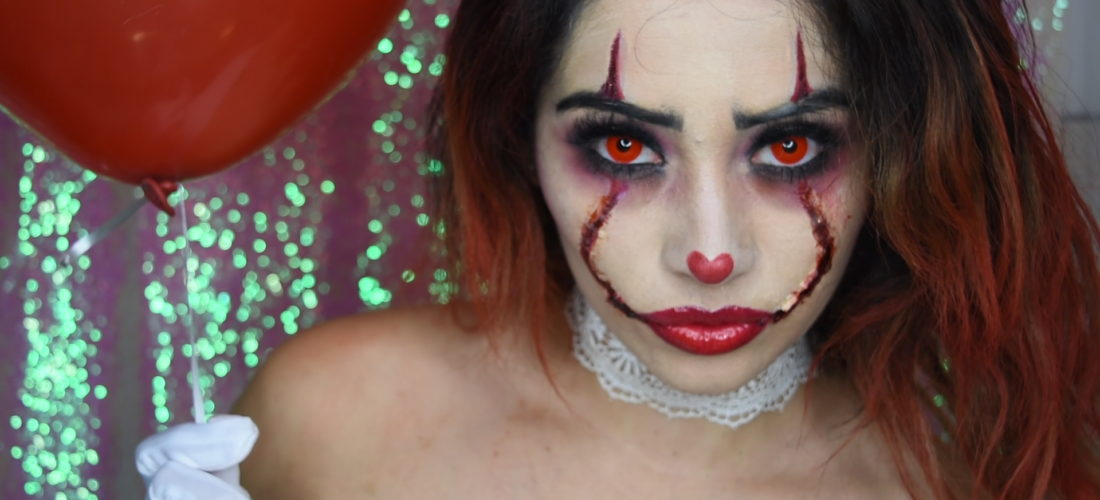 Beauty Doll Kris : 'IT' Halloween Clown Makeup