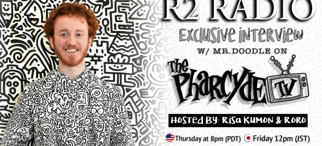 R2Radio interview with Artist & Internet sensation, Mr.Doodle