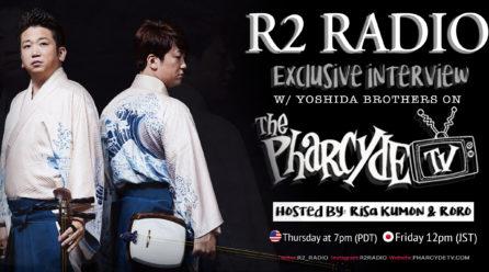 R2 Radio 2020 Exclusive Interview : Yoshida Brothers